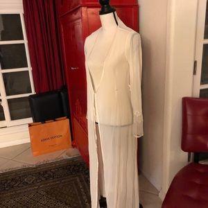 NWOT Silk Victoria's Secret Slip And Cardigan